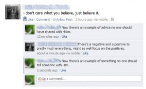 Funny photos funny Facebook reply how to lose friend