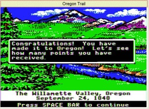 Wow, I actually made it to Oregon with 3 people in fair health...