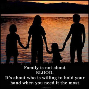 family is not blood
