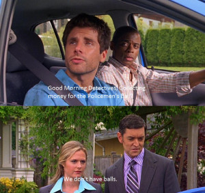 It may not be 30 Rock, but Psych is still great