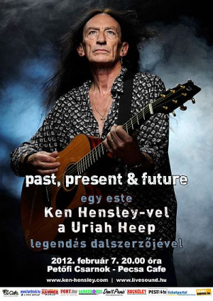 Ken Hensley Uriah Heepin Life 03072008 Burgas Photo Picture
