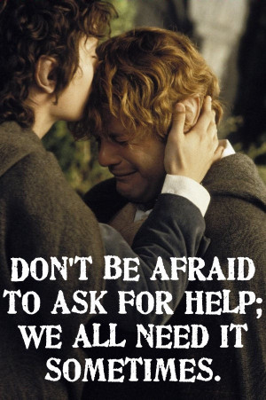 sam lord of the rings quotes quotesgram