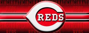 Cincinnati Reds Face Book Cover