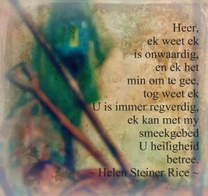Helen Steiner Rice Gedig