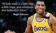 Magic Johnson   Diagnosed with HIV More