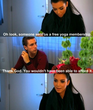 Lord Disick reminds Kim of her status