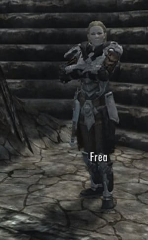 Frea is an NPC in Skyrim Dragonborn.
