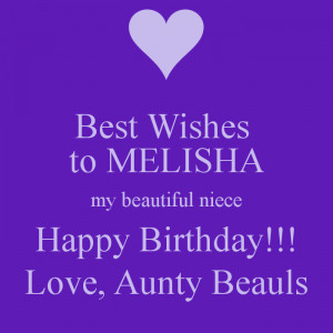 Happy Birthday Wishes For My Niece