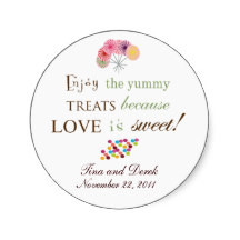 Wedding Favor Sayings on Bridal Shower Favor Stickers Bridal Shower ...