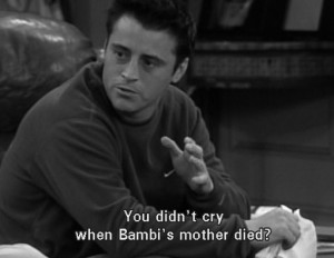 bambi, best, disney, friends, funny, joey, quote