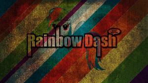 grunge quotes my little pony rainbow dash 1920x1080 wallpaper Art HD ...