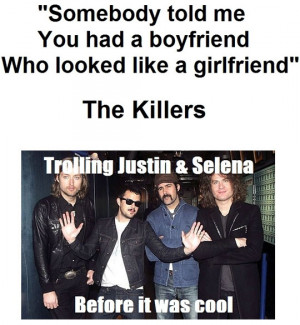Funny photos funny The Killers band quote