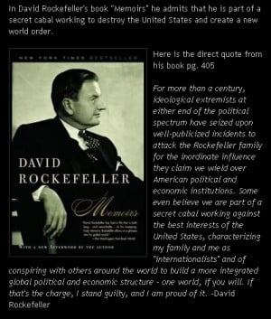 Rockefeller Quote
