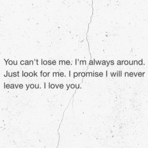 ... you, leave, letter, lose, love, message, old, phrase, promise, quote