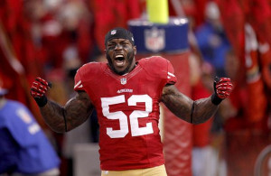San Francisco 49ers middle linebacker Patrick Willis will be ready to ...