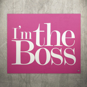 eu.Fab.com | Im The Boss Plate II