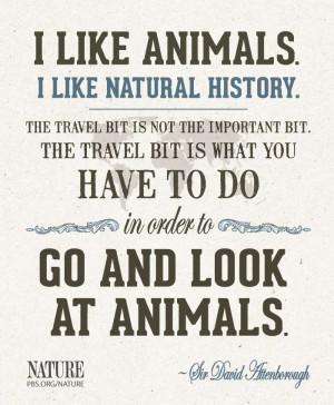 Words of wisdom from Sir David Attenborough
