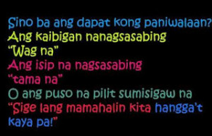 Quotes About Love And Hurt Tagalog ~ QUOTES ABOUT LOVE HURTS TAGALOG ...