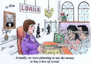 Loan Officer Cartoons Cartoon Funny