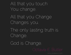 octavia butler quotes | the only lasting truth (daily hot! quote ...