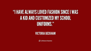 School Uniform Quotes