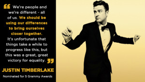 are ten great quotes from Grammy-nominated artists who support gay ...