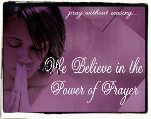 Power Of Prayer Papel de Parede Imagem
