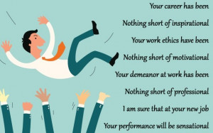 Inspirational message for colleague who got a new job Congratulations ...