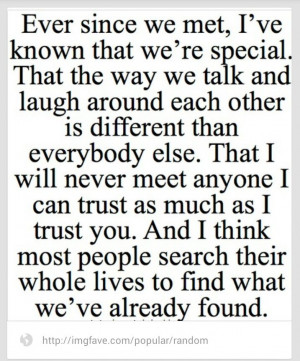 friend quote, love her through all the hard times we've been through ...