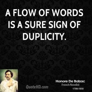 Honore De Balzac Quotes