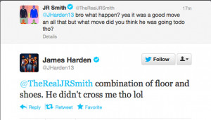 James Harden says he didn't get crossed over against Nigeria