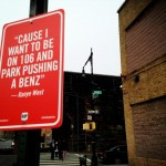 New York City Covered in Rap Lyric Signs by Street Artist Jay Shells