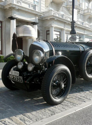 1930's Bentley. Patrick Macnee as John Steed drove one of these on the ...