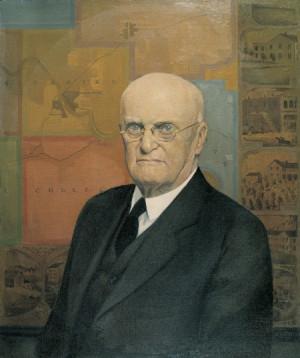 Grant Wood, Portrait of John B. Turner, Pioneer , 1928-1930, oil on ...