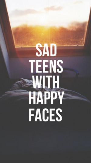 mine quote happy sad sleep landscape bed sun with teens teenager bored ...
