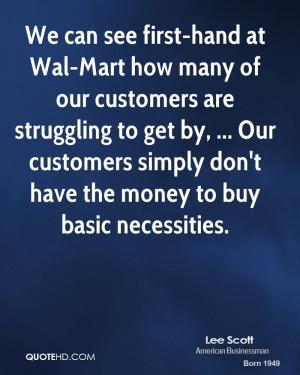 Lee Scott Quotes