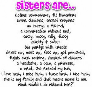 Love My Sister Quotes Tumblr