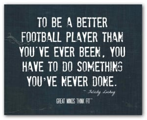 Inspirational Football Quote