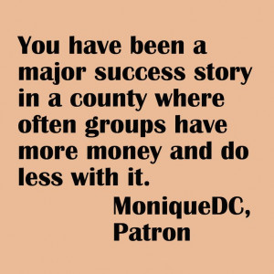 Quote from a MCPL patron.