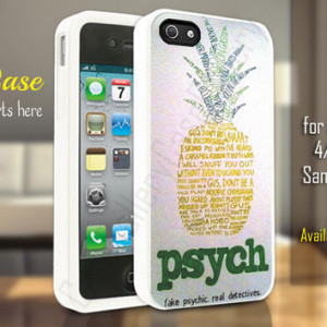 psych pineapple quotes samsung galaxy s3/s4/s5, psych pineapple quotes ...