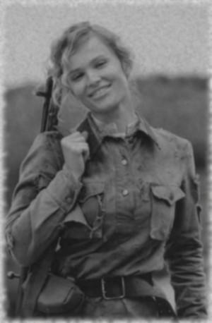 Russian female soldier 8 WW2 by UniformFan