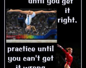 Gymnastics Poster Shawn Johnson Oly mpic Gymnast Photo Quote Wall Art ...
