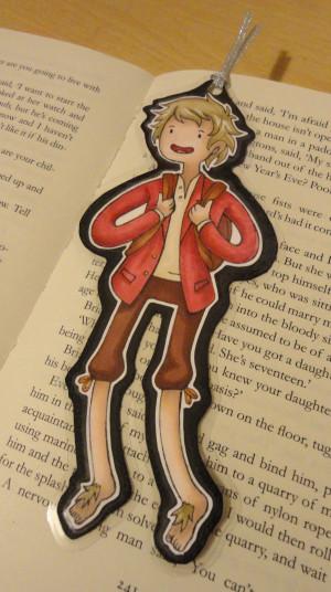 Bilbo Baggins Adventure Time Bookmark By Evaholder Dtmmmd