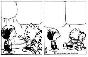 Calvin And Hobbes Sad
