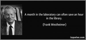 Quotes by Frank Westheimer