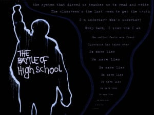 High School Football Quotes Inspirational The battle of high school