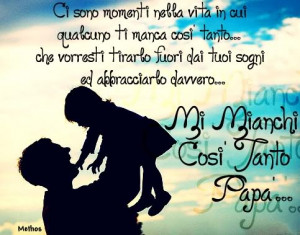 Banner Papà - I Miss You Dad