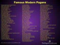 famous pagans