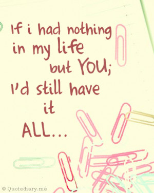you are my everything:)