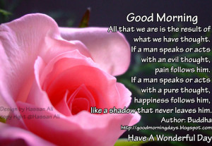 Good Morning Quotes for 28-04-2010